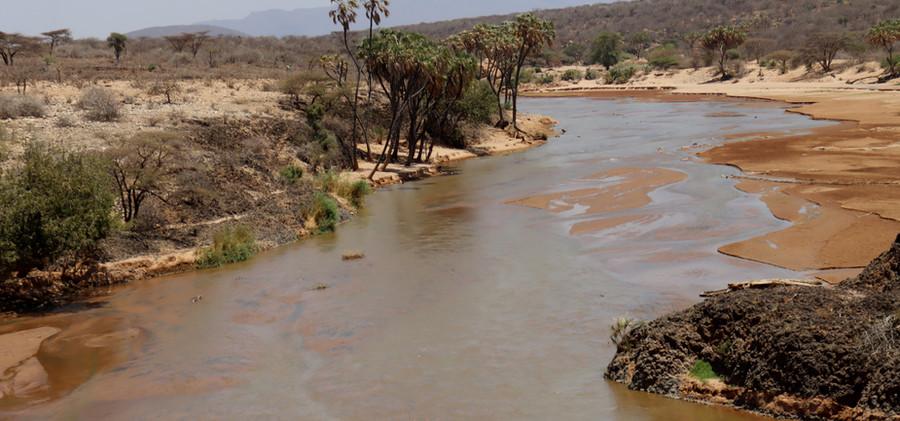 Ewaso Ng'iro River at GOTU