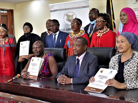 MoU BETWEEN IMPACT AND THE NATIONAL LAND COMMISSION