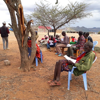Drafting by-laws with members of the Munichoi group ranch