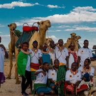 Camel handlers at the 2019 Camel Caravan