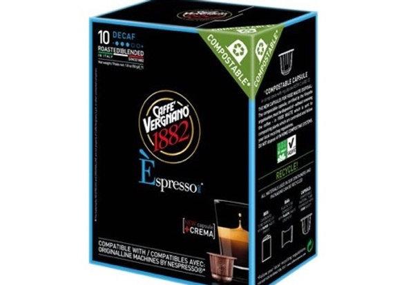 Caffe Vergnano Decaf Capsules