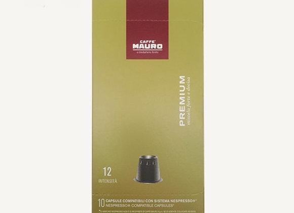 קפסולות מאורו Premium תואם נספרסו