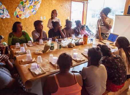 Roda de conversa com as mulheres: um espaço de resiliência e de transformação