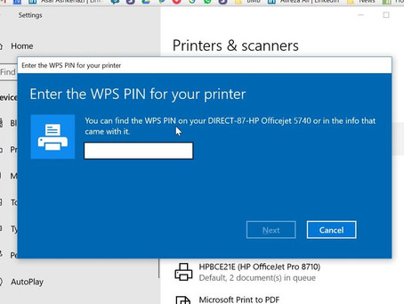 HOW TO FIND WPS PIN ON HP PRINTER?