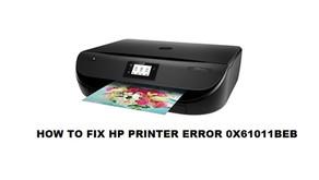 HOW TO FIX HP PRINTER ERROR 0X61011BEB