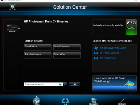 FIX HP Solution center for windows 10