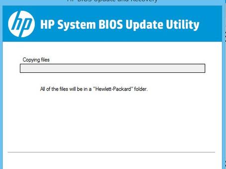 Steps to Update HP Pavilion & Spectre Laptop Bios