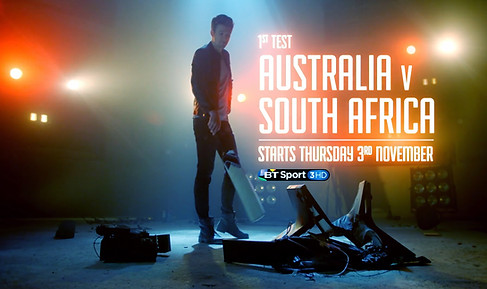 Bt sport cricket promo//Art director and prop maker