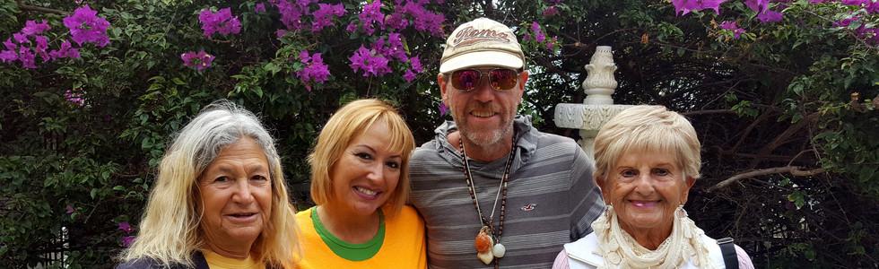 Feeding the homeless with Miami Church