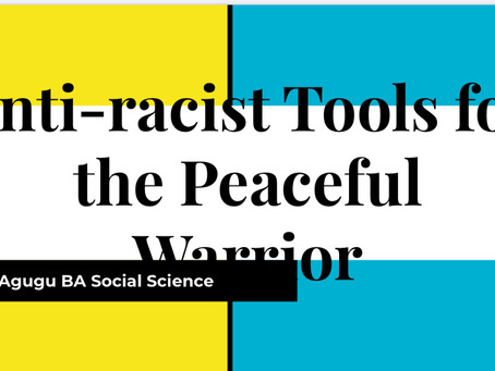 Anti-racist Tools for the Peaceful Warrior