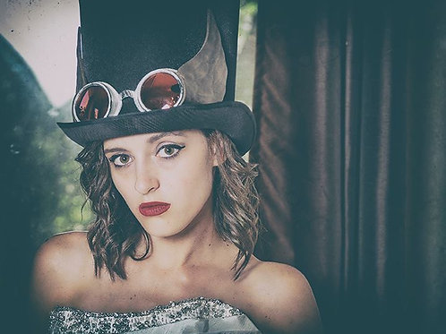 STEAMPUNK HAT & GOGGLES