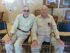 WWII Veterans in Senior Homes