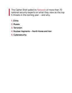 2017 Annual Report Topics