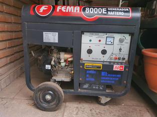 Generador Naftero Fema 8000E monofásico
