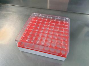Caja para tubos Simport