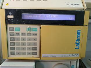 Detector UV para HPLC