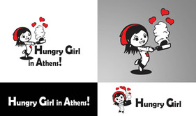 Humgry Girl In Athens