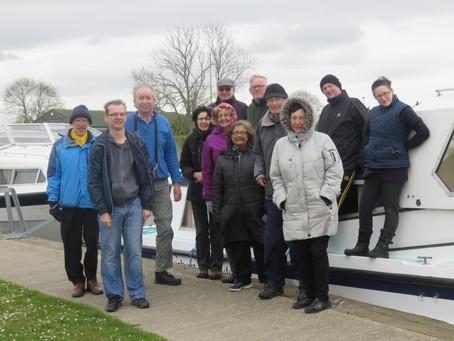 Redbridge social group take a trip on the Norfolk Broads