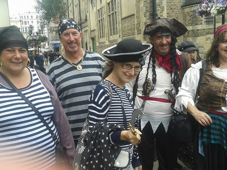 Pirates Day Swashbuckling in Hastings