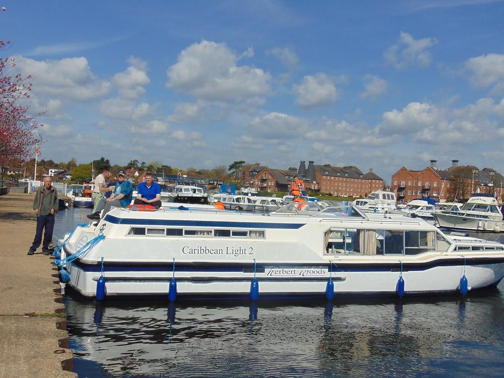 Members of Redbridge 18 Plus enjoyed a trip to the Norfolk Broads