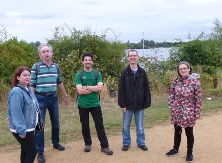 Redbridge Social Group Flock to Fairlop Waters