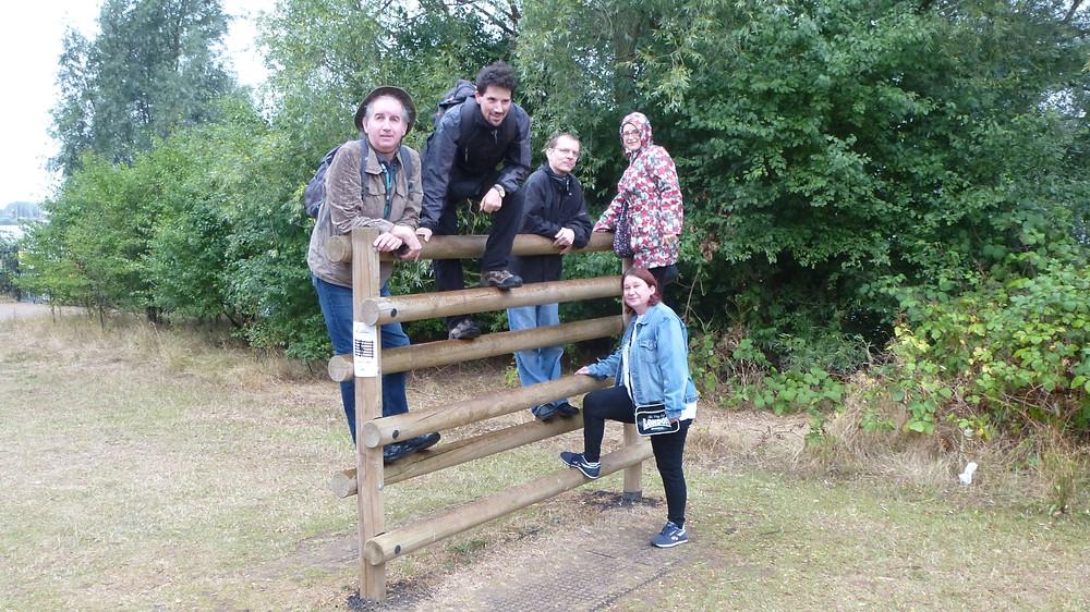 Group balancing on logs.