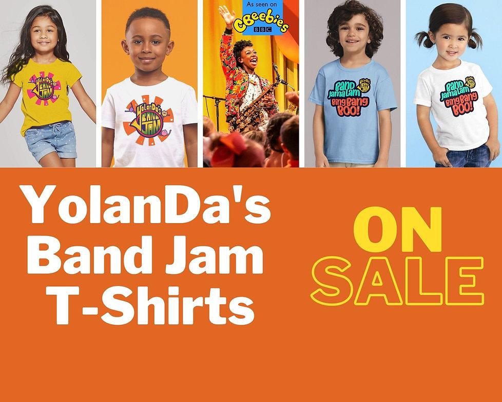 YolanDa's Band Jam T Shirts On Sale Now-