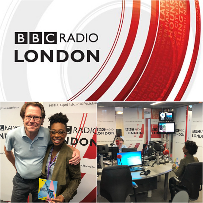 BBC London Interview with YolanDa Brown and Robert Elms