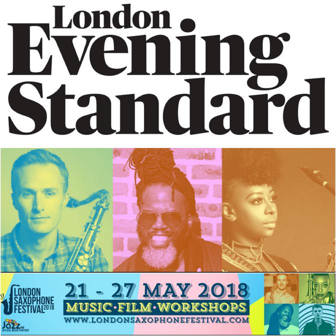 Evening Standard Feature for London Saxophone Festival