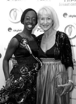 Dame Helen Mirren and YolanDa Brown