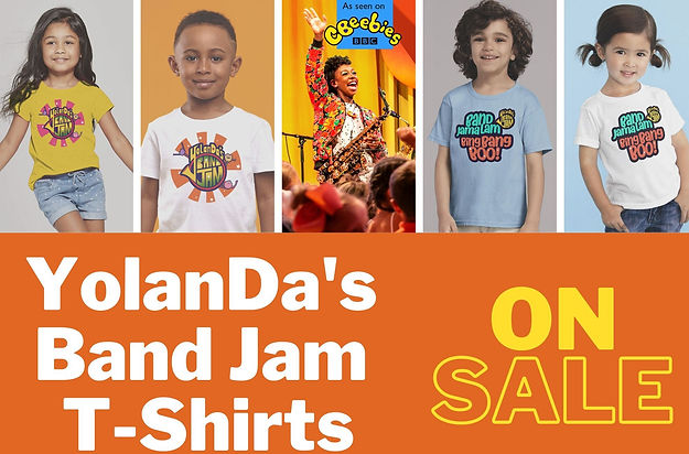 YolanDa's%20Band%20Jam%20T%20Shirts%20On