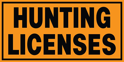 Hunting Licenses Banner