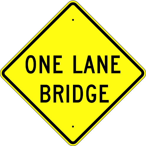 One Lane Bridge