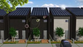 Solar power generation house