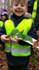 Tringham Pre-School Forest School