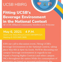 Fitting UCSB's Beverage Environment in the National Context