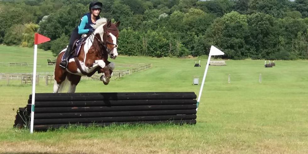 Doug Jones xc clinic  at Horse heath