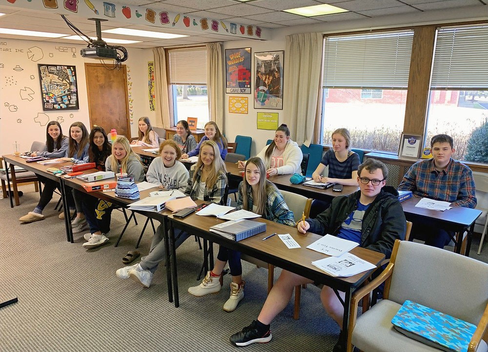 Roman Tutoring SAT/ACT Prep Class in Session