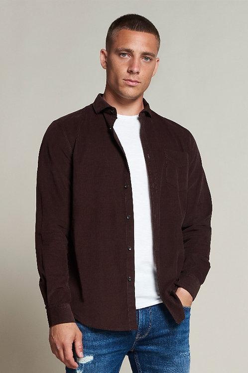Babycord shirt Brown