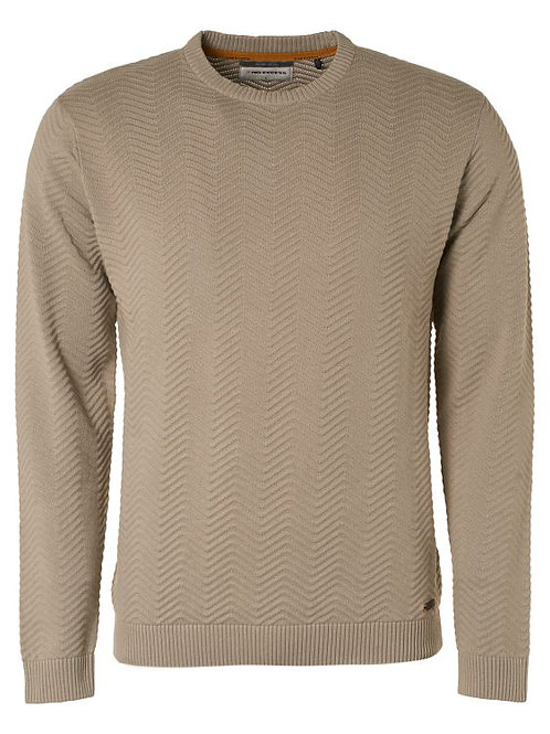 No Excess Knit stone