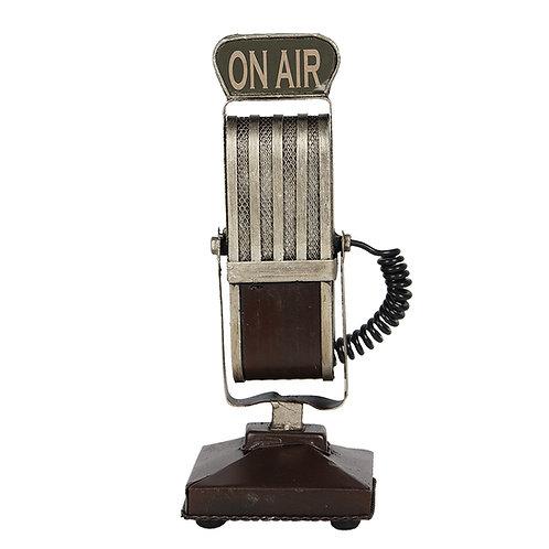 Decoratieve vintage microfoon