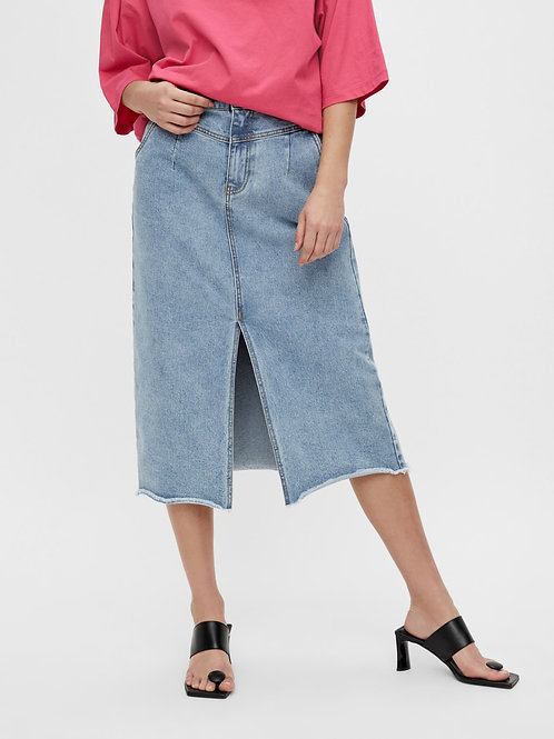 OBJMOJI DENIM SKIRT
