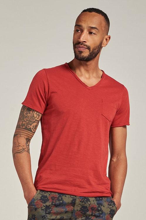 202636 Steward V-neck Red