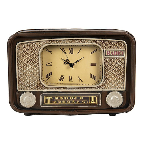 Tafelclock model Radio 24*17*17 ijzer