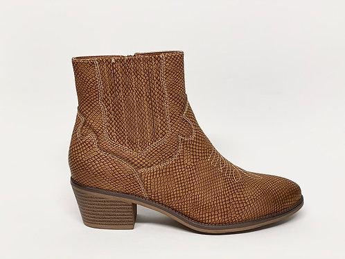 Fabs Western Boots Cognac