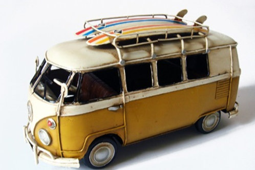 Bus Surfboard Yellow