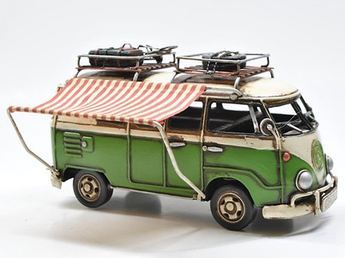 Camper bus green