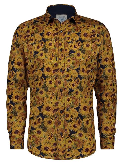 Shirt Van Gogh Zonnebloemen Geel