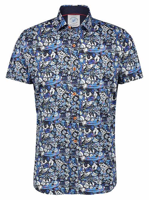Shirt best of brood blue 22.03.059