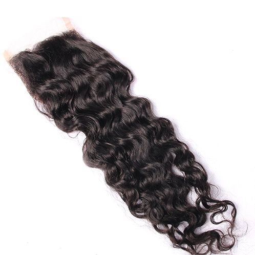 Curly Indian Closure